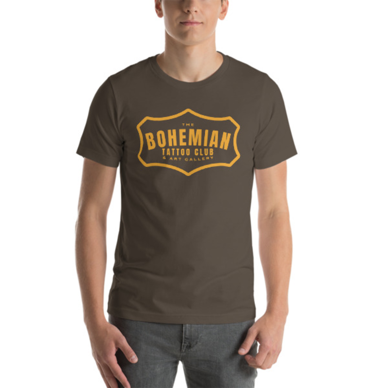 Bohemian Gold! Short-Sleeve Unisex T-Shirt - Army