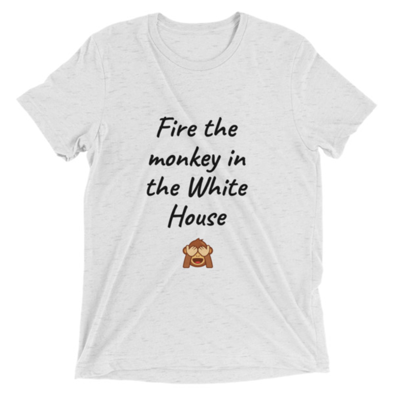 Fire the monkey in the white house