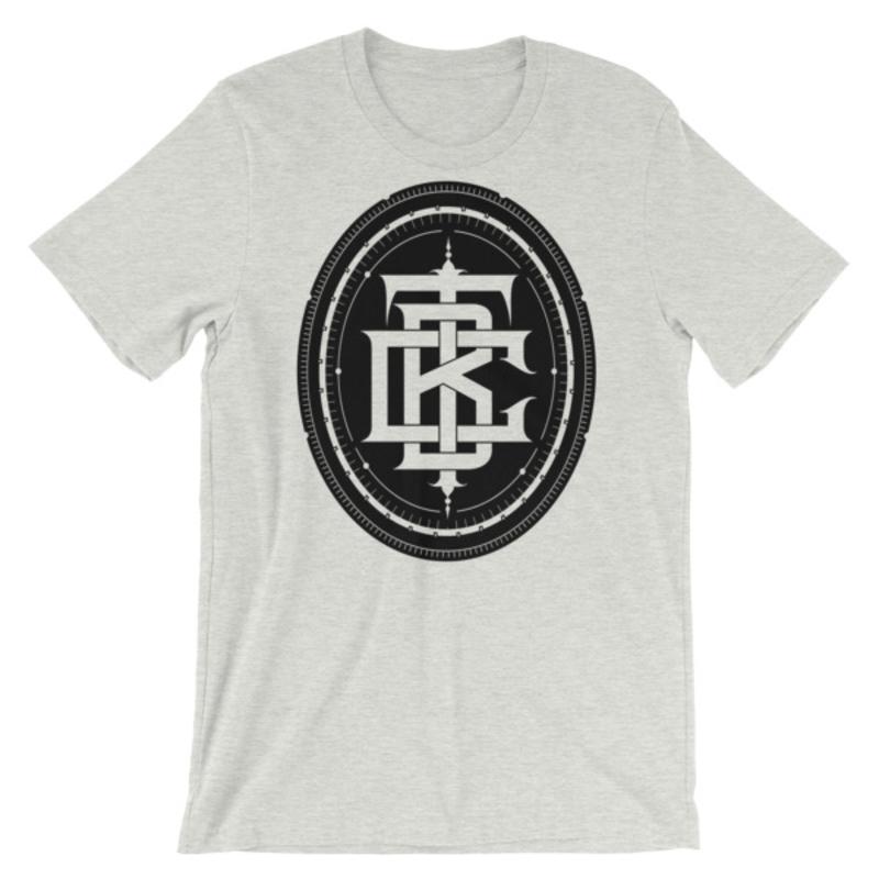 BTC initial Short-Sleeve Unisex T-Shirt - Ash