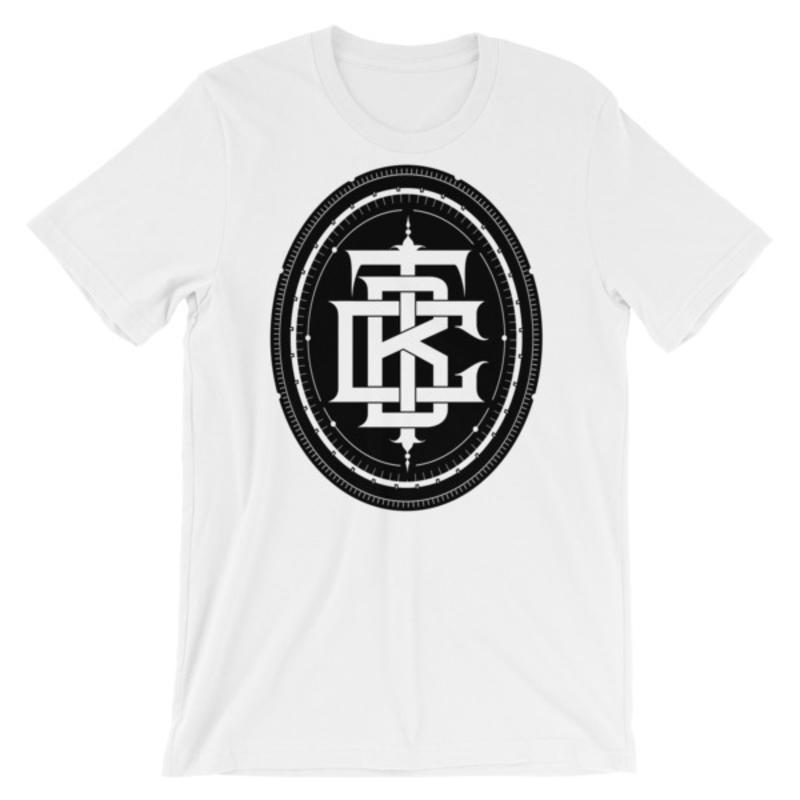 BTC initial Short-Sleeve Unisex T-Shirt