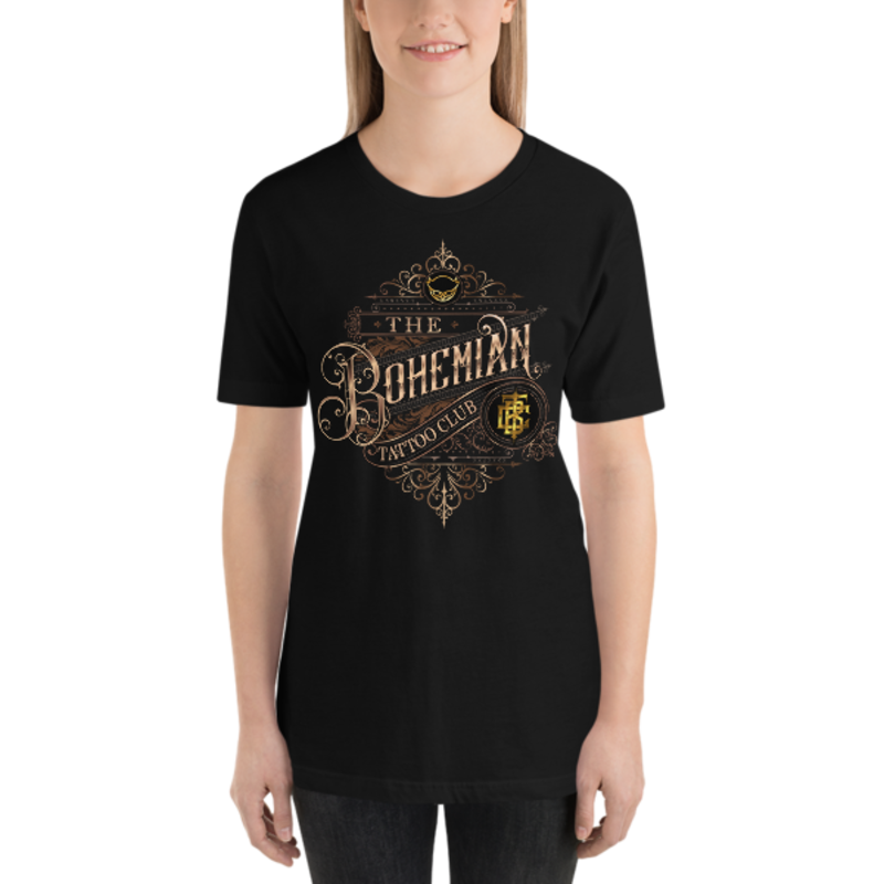 BTC filigree logo Short-Sleeve Unisex T-Shirt