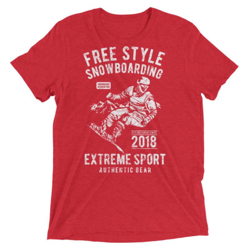 Free-Style-Snowboarding