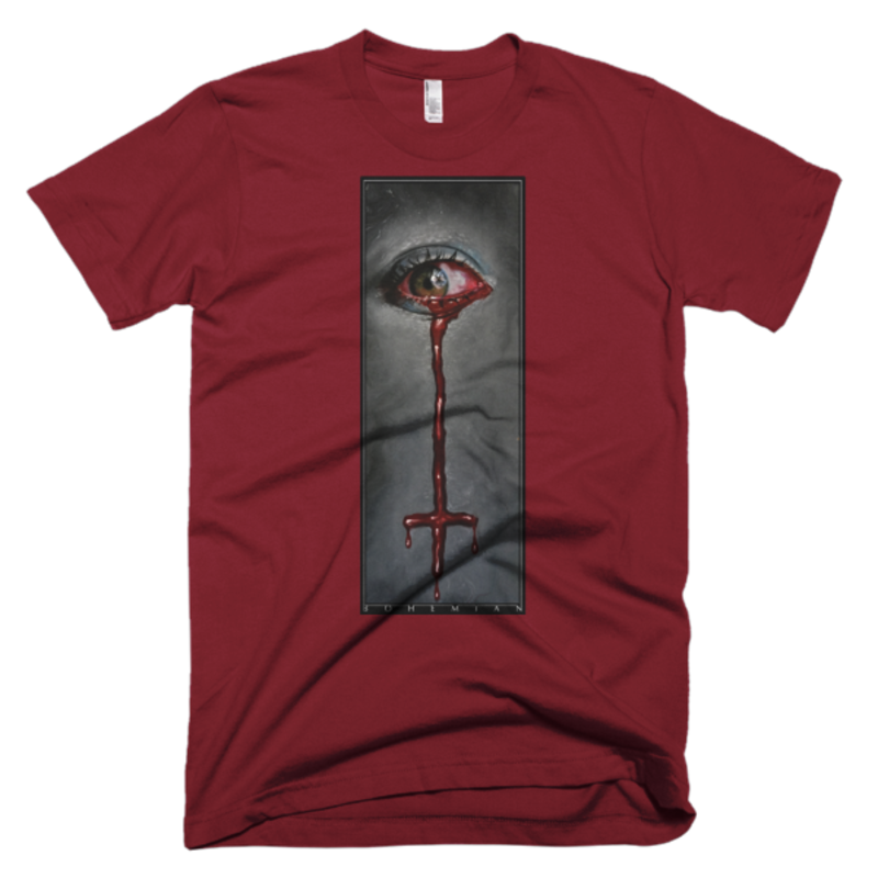 Timothy Boor Signature series  Short-Sleeve T-Shirt - Cranberry