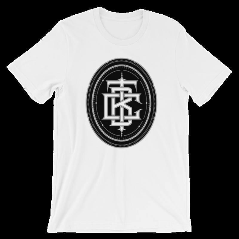 BTC initial logo Short-Sleeve Unisex T-Shirt