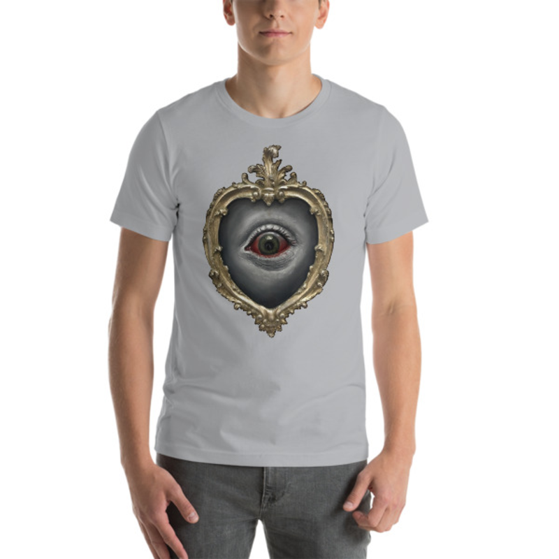TIMOTHY BOOR signature series Short-Sleeve Unisex T-Shirt - Silver