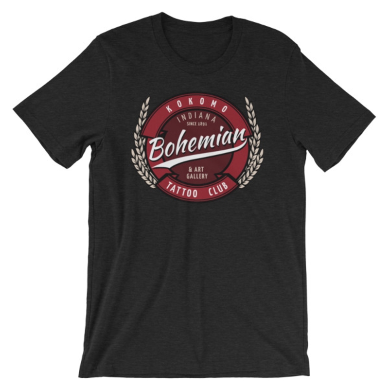 Bohemian brew Short-Sleeve Unisex T-Shirt - Black Heather