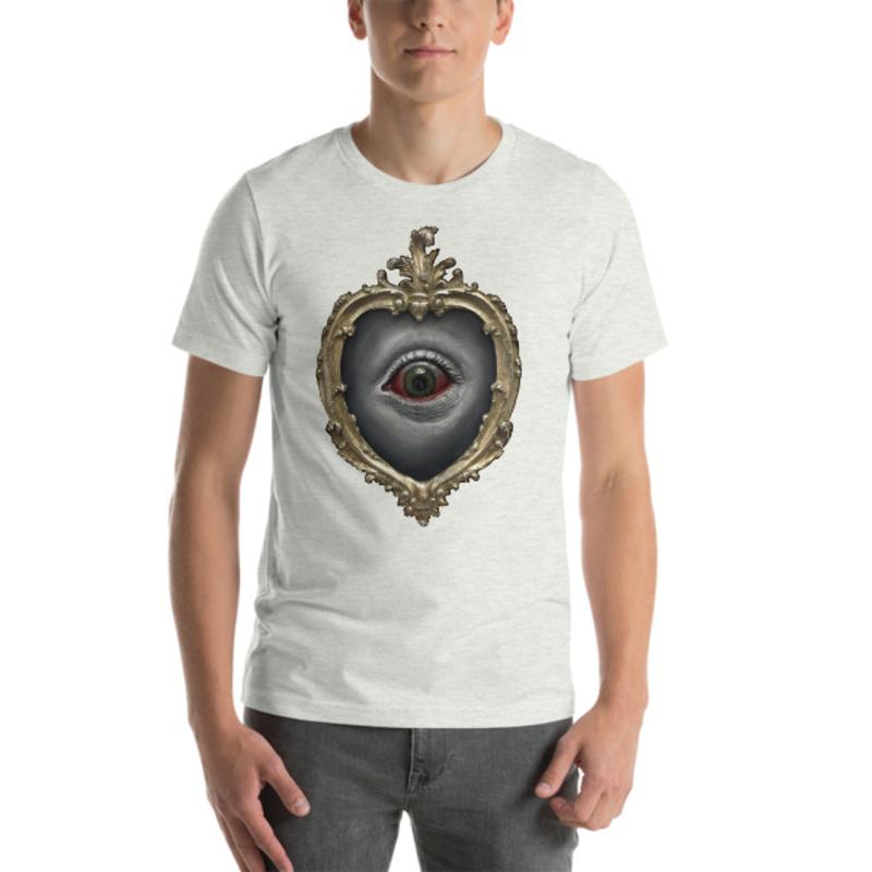 TIMOTHY BOOR signature series Short-Sleeve Unisex T-Shirt - Ash