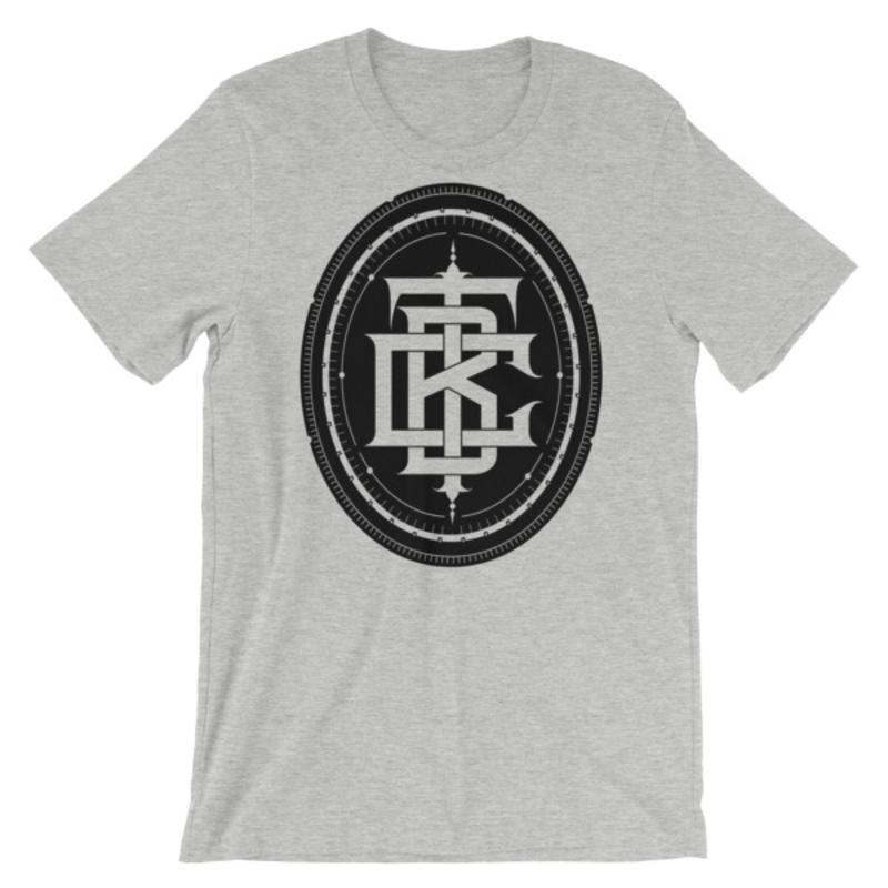 BTC initial Short-Sleeve Unisex T-Shirt - Athletic Heather