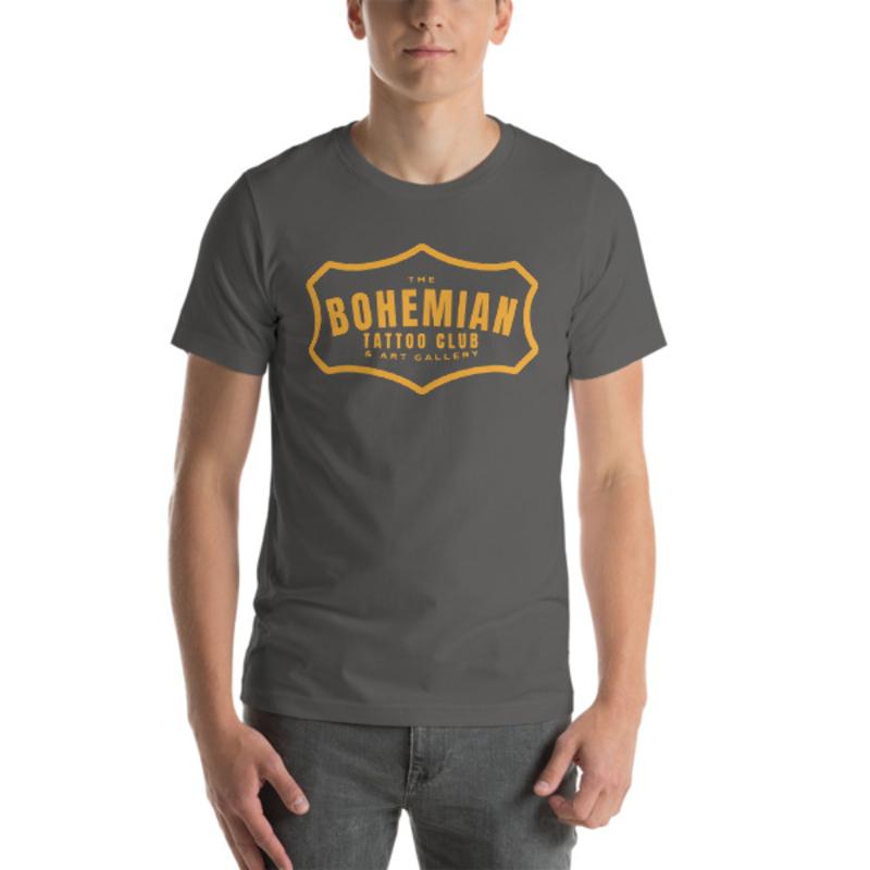 Bohemian Gold! Short-Sleeve Unisex T-Shirt - Asphalt