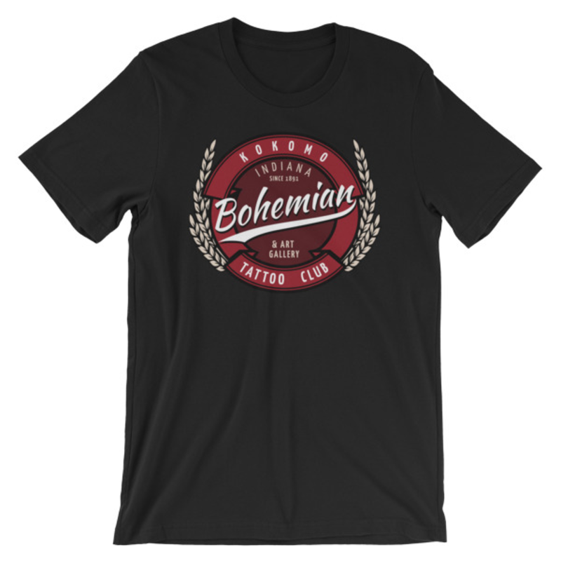 Bohemian brew Short-Sleeve Unisex T-Shirt - Black