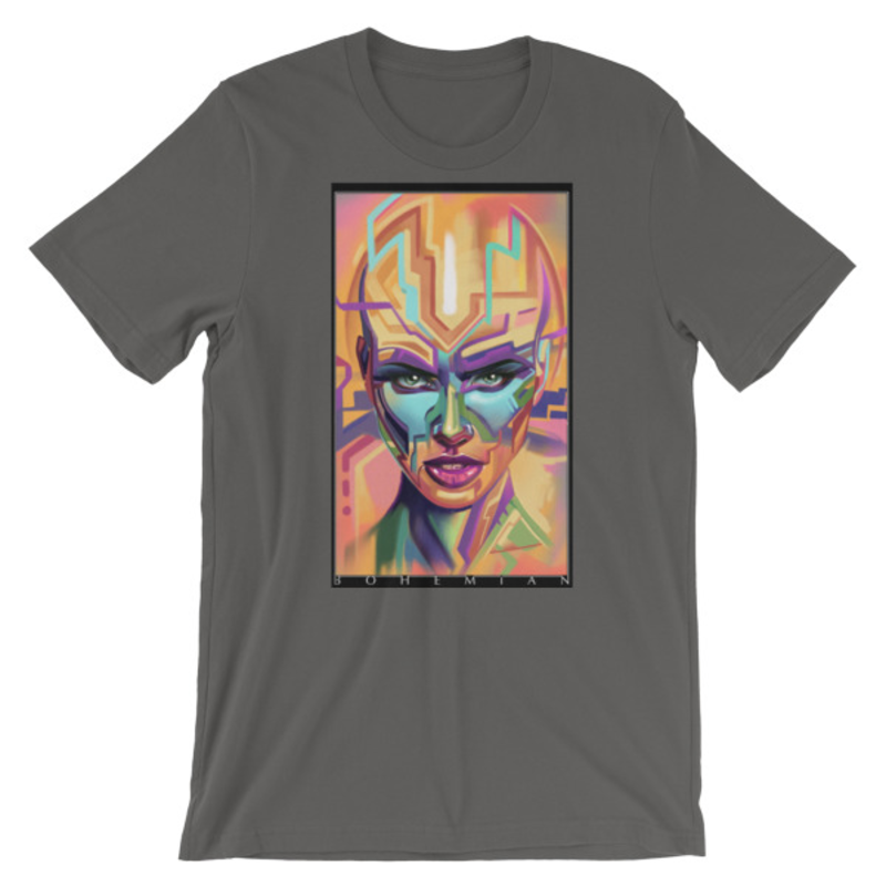 Timothy Boor signature series Short-Sleeve Unisex T-Shirt - Asphalt
