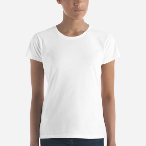 b2f17155 Anvil 880 Ladies Ringspun Fashion Fit T-Shirt with Tear Away Label ...