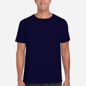gildan 64000 unisex softstyle t shirt with tear away label