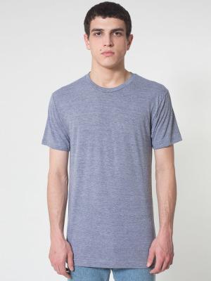 bb31de759a4 American Apparel TR401 Unisex Tri-Blend Short Sleeve Track Shirt (Athletic  Grey   XS)