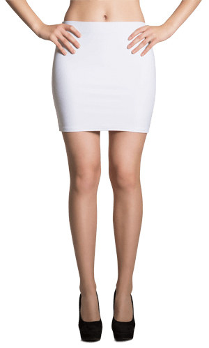 Sublimation Cut & Sew Mini Skirts