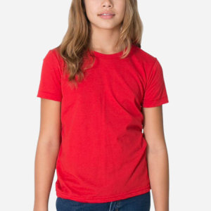 American Apparel 2201w Youth Fine Jersey Short Sleeve T
