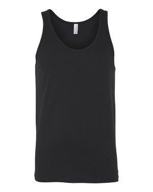 Bella + Canvas 3480 Unisex Jersey Tank with Tear Away Label