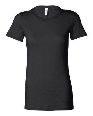 Bella + Canvas 6004 Women's The Favorite Tee with Tear Away Label