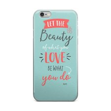 Let the Beauty – iPhone Case