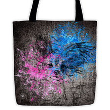 Papillon Sketch – Tote Bag