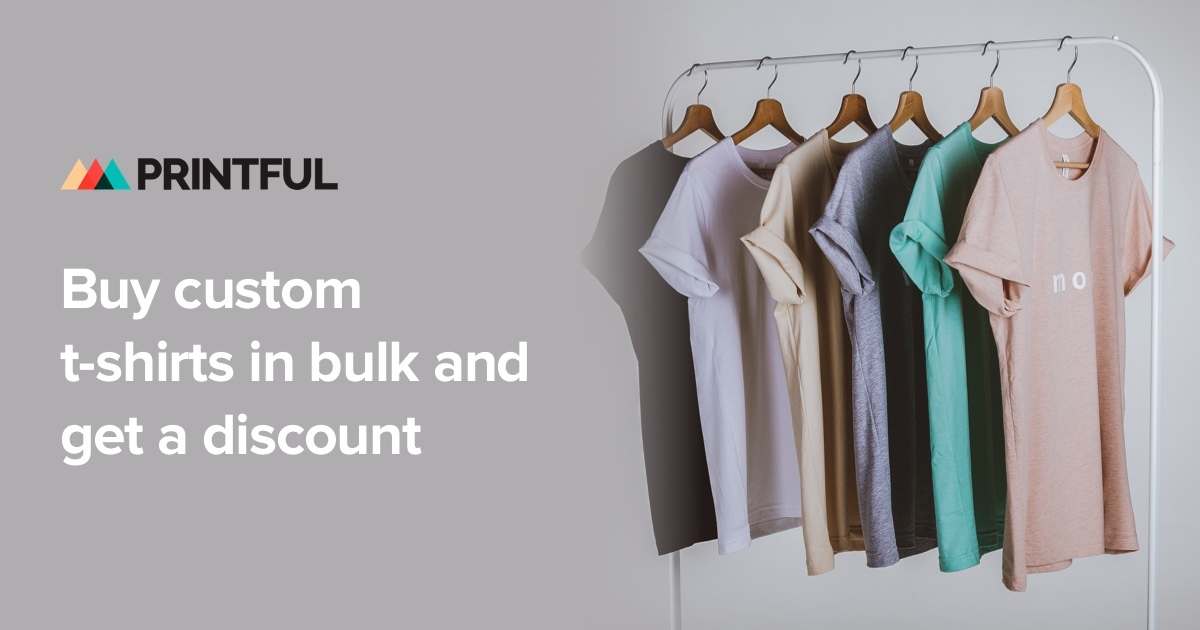 Volume Discounts for Custom Shirts - Save up to 30% with