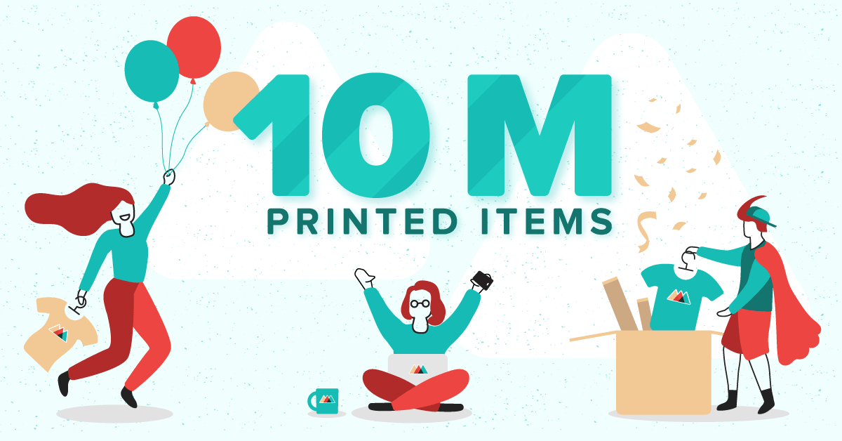 Printful celebrates 10 million printed products