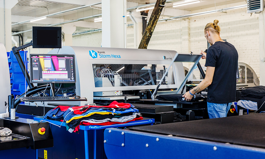 In preparation for the holiday season, Printful invests $6.6 million in printing tech upgrade for DTG apparel