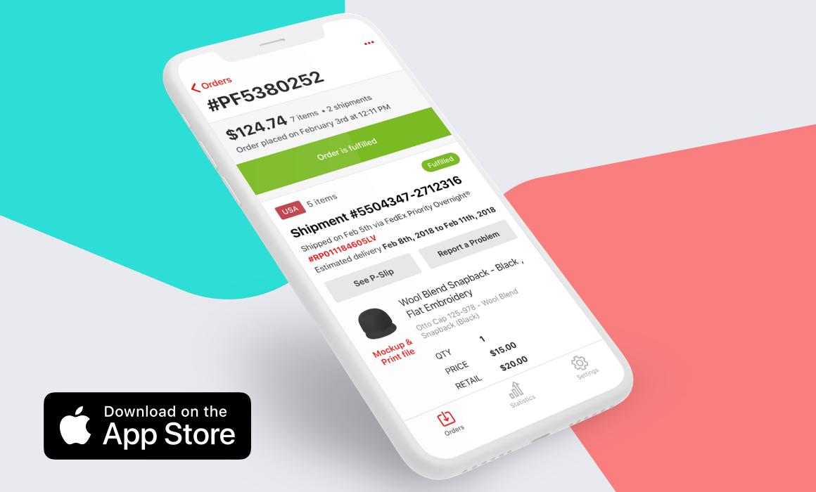 Printful launches Printful App, their custom-built iOS application