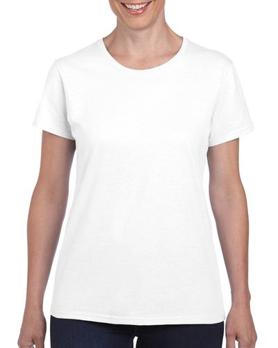 Gildan 5000l Ladies Heavy Cotton Short Sleeve T Shirt With Tear Away