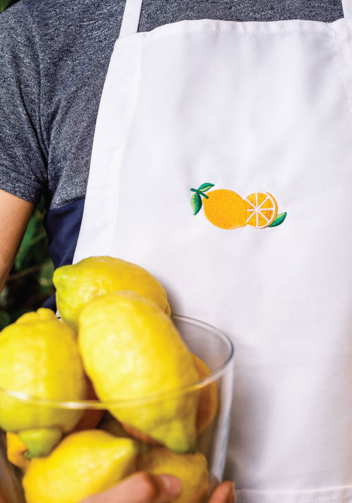 Personalized Embroidered Apron - Liberty Bags 5502   Printful