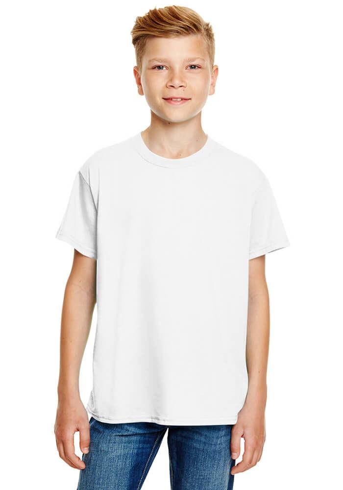 60bd02a97b46 Anvil 990B Youth Lightweight Fashion T-Shirt with Tear Away Label ...
