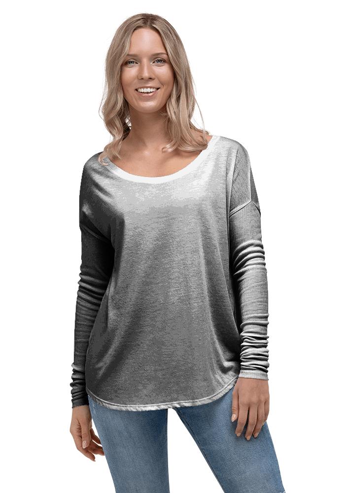 a4fcb5e8bf86 Personalized Flowy Long Sleeve Shirt - Bella + Canvas 8852 | Printful