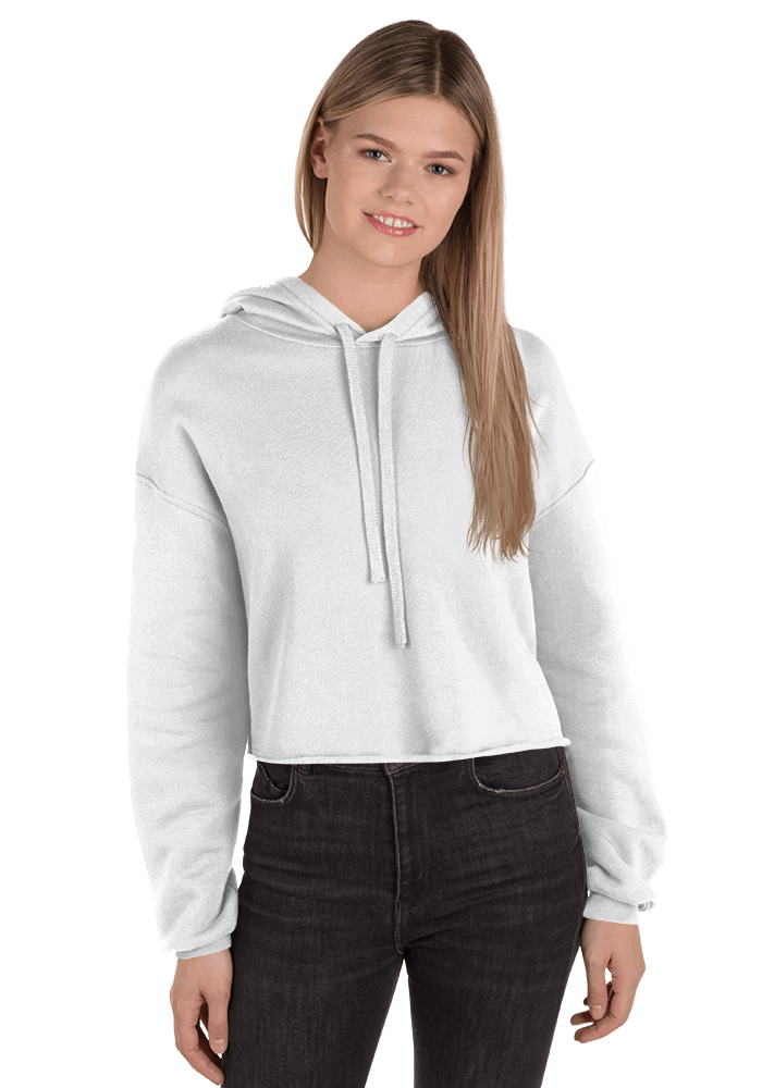 Personalized Women's Cropped Hoodie - Bella + Canvas 7502 | Printful