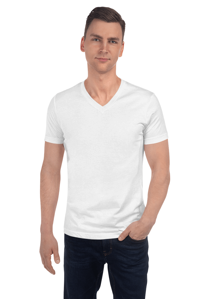 f6cf384318c9 Personalized Unisex V-Neck Tee - Bella + Canvas 3005 | Printful