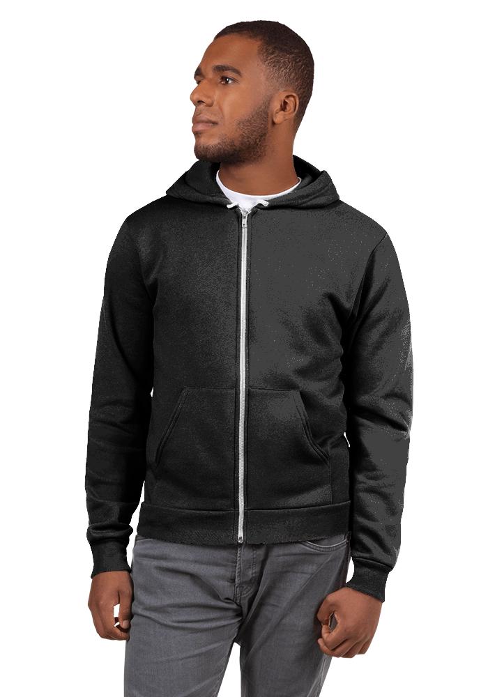Personalized Unisex Zip Up Hoodie - American Apparel F497W | Printful
