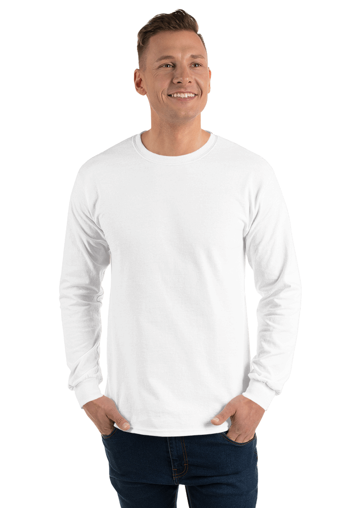 7a118796 Gildan 2400 Ultra Cotton Long Sleeve T-Shirt | Printful