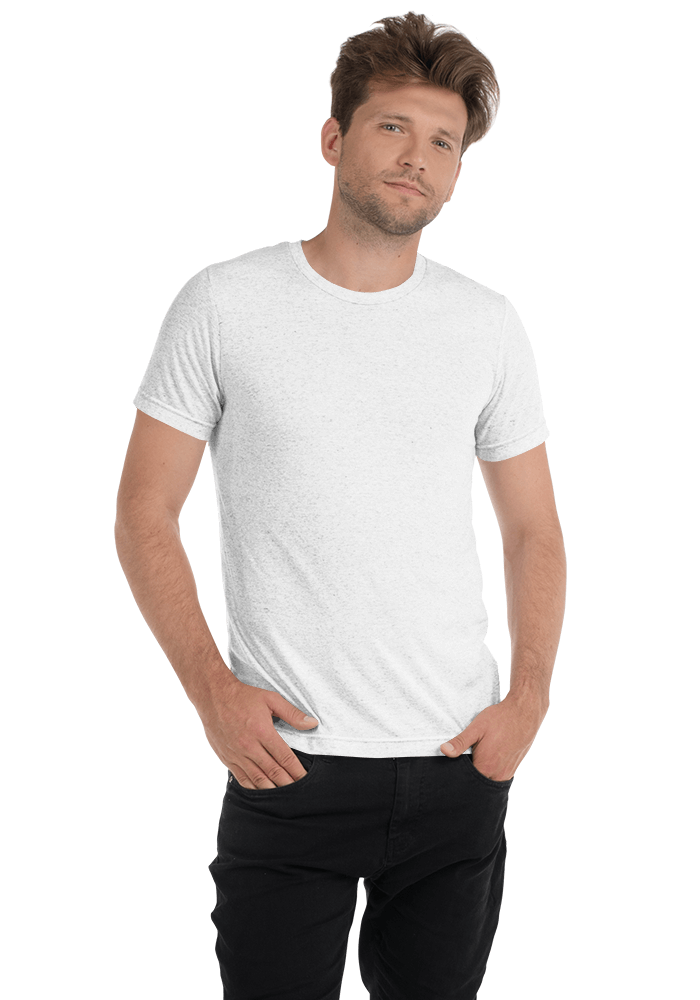 83f23b0ba Bella + Canvas 3413 Unisex Triblend Short Sleeve T-Shirt with Tear Away  Label