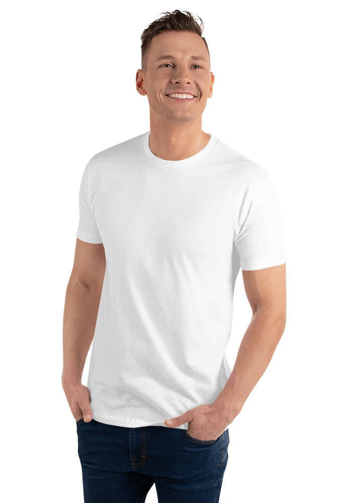 b0cab065dda784 Next Level 3600 Premium Fitted Short Sleeve Crew with Tear Away ...