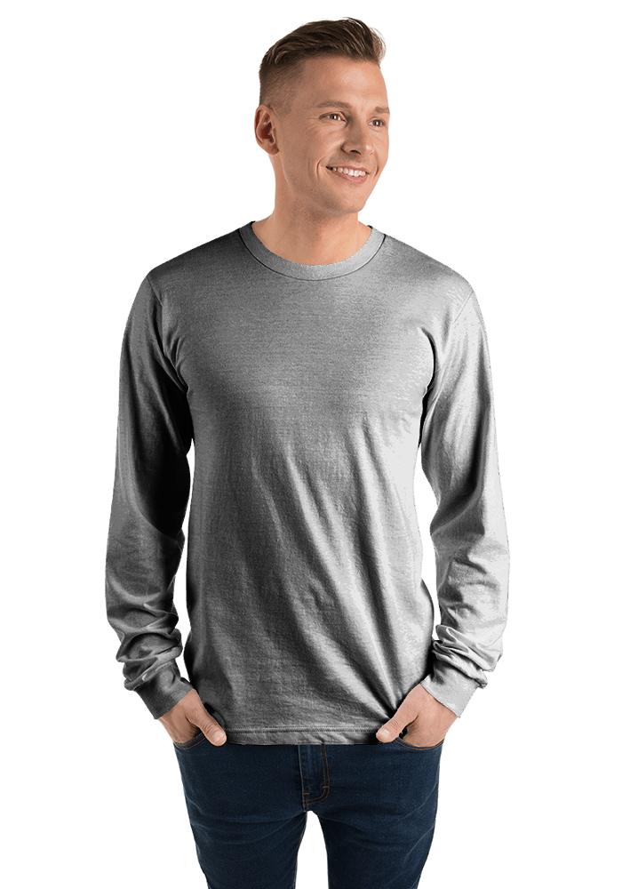 Apparel 2007Printful American Larga Camiseta Unisex Manga thrsQCd